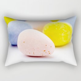 Chocolate Eggs Rectangular Pillow