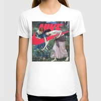 nike T-shirts featuring Victoria Nike Women by CHESSOrdinary