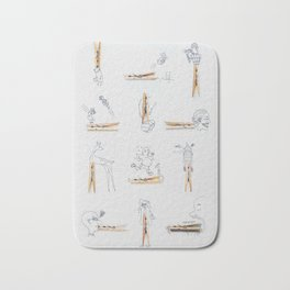 To a creative mind, there's no ordinary object. Bath Mat