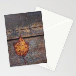 vintage leaf. Stationery Cards