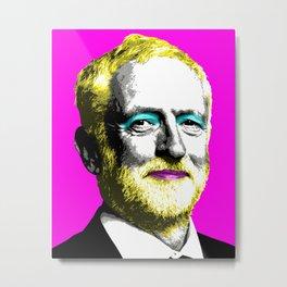 Marilyn Corbyn - Pink Metal Print
