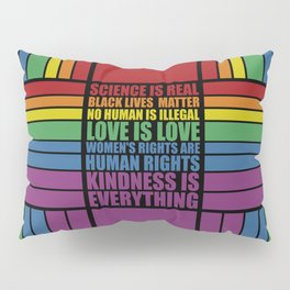 Science is real... Inspirational Fashion Pillow Sham