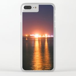Urban Nights, Urban Lights #10 Clear iPhone Case