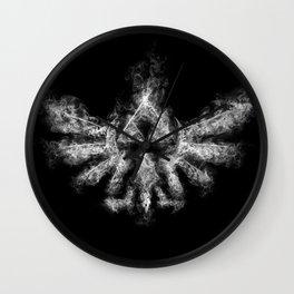 Triforce Smoke Wall Clock