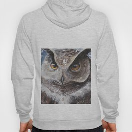 """The Owl - """"Watch-me!"""" - Animal - by LiliFlore Hoody"""