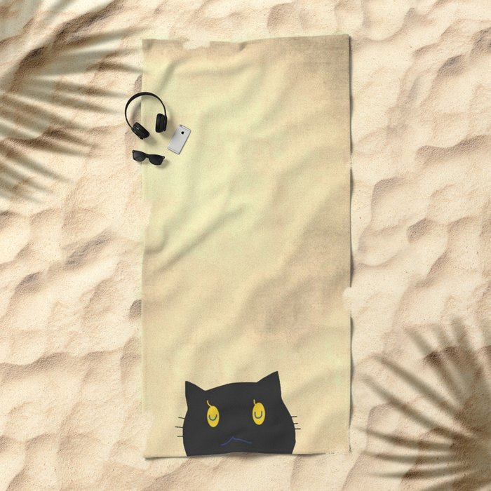 cat-43 Beach Towel