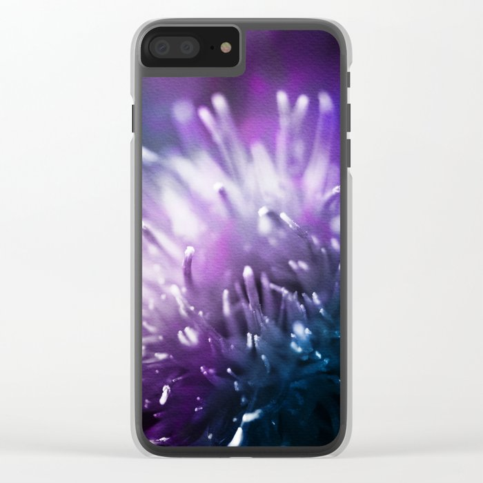 Dream Flower 3 Clear iPhone Case