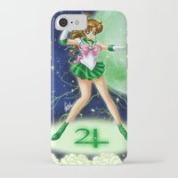 sailor jupiter iPhone & iPod Cases featuring Sailor Jupiter by HaruShadows