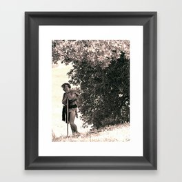 The Shepard of Agora Framed Art Print