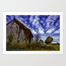 Barn Country Art Print