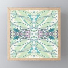 Spring Colors & Squiggles Framed Mini Art Print