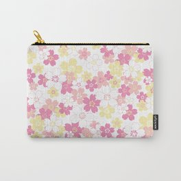 Cherry Blossom-pink Carry-All Pouch