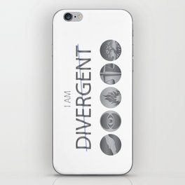 I am Divergent iPhone Skin