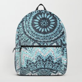 BOHOCHIC MANDALA IN BLUE Backpack