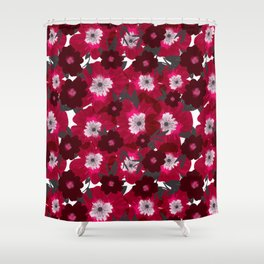 Flowers Overflowing Shower Curtain