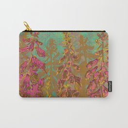 Fun with Foxgloves Carry-All Pouch