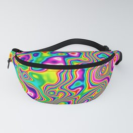 Warped Rainbow Fanny Pack