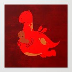 Dragaroo Canvas Print