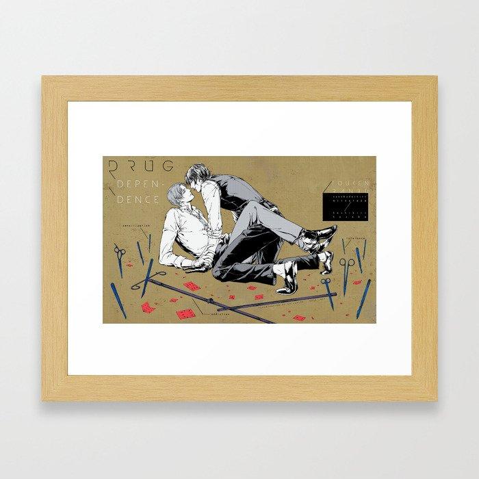 Drug Dependence Framed Art Print