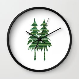 Happy Holiday - Holidaze Wall Clock