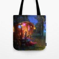 wanderlust Tote Bags featuring Wanderlust by Aimee Stewart