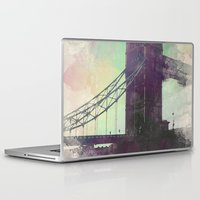 bridge Laptop & iPad Skins featuring Bridge by Nechifor Ionut