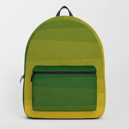 Shades of Grass - Gradient between Lime Green and Bright Yellow Backpack