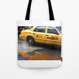 Taxi Tote Bag