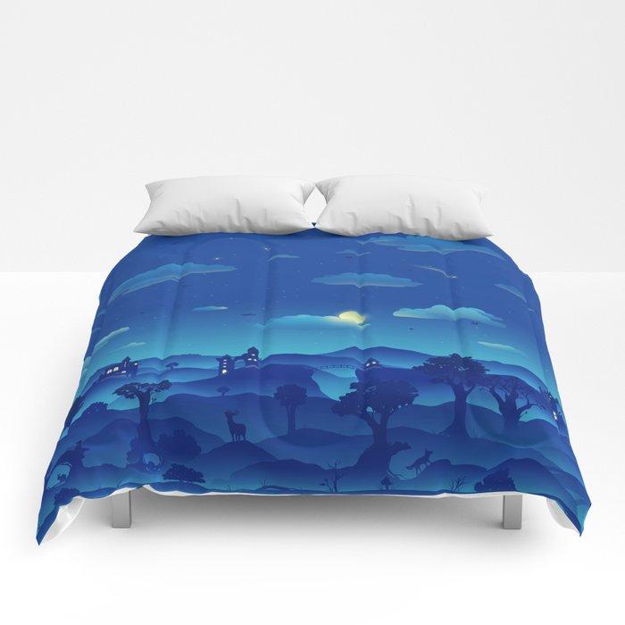 Fairytale Dreamscape Comforters