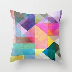 Color Blocking 2 Throw Pillow