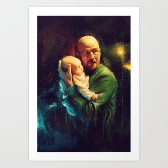 """""""Never give up on family.""""W.W. Art Print"""