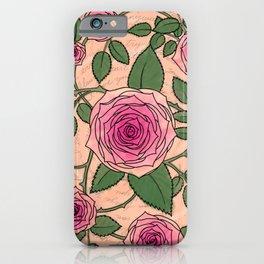 You Are a Rose in Orange iPhone Case