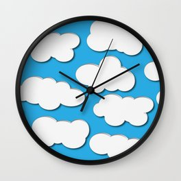 Sky is the limit Wall Clock
