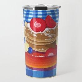 Pancakes Week 10 Travel Mug