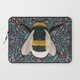 Folk Bumble Bee Laptop Sleeve
