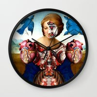 madonna Wall Clocks featuring Madonna by DIVIDUS