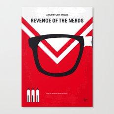 No504 My Revenge of the Nerds minimal movie poster Canvas Print