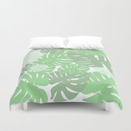 MONSTERA DELICIOSA SWISS CHEESE PLANT Duvet Cover