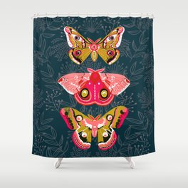 Lepidoptery No. 4 by Andrea Lauren Shower Curtain
