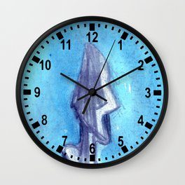 Torn by the blue sky  Wall Clock