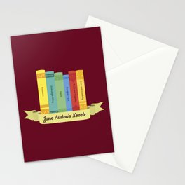 The Jane Austen's Novels III Stationery Cards