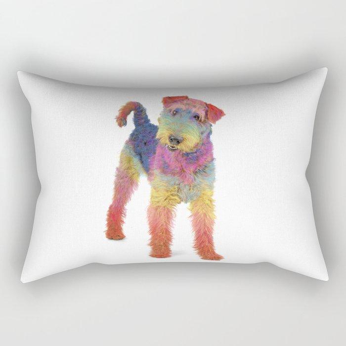 Airedale Terrier Rectangular Pillow