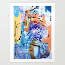 Everything once beautiful......destroyed Art Print