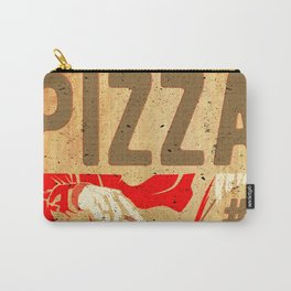 In Pizza We Trust Carry-All Pouch