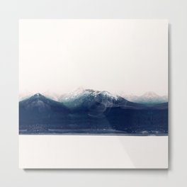the blue mountain Metal Print