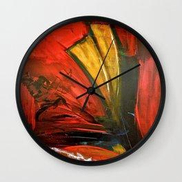 Downfall #1 Wall Clock