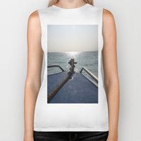 thailand Biker Tanks featuring Thailand Boatride by Plutonian Oatmeal