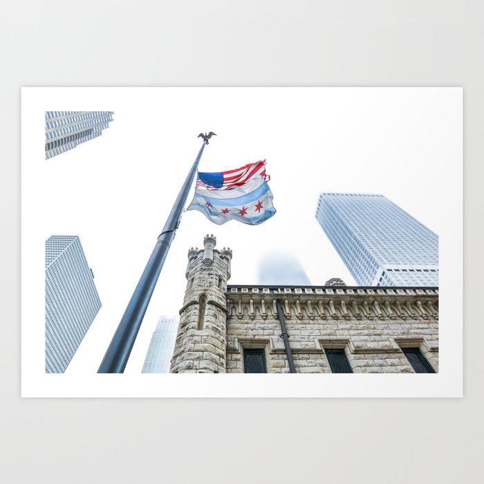Chicago Fog Art Print