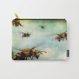 Crown of Bees Carry-All Pouch