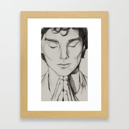 In My Mind Palace Framed Art Print